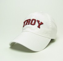 Troy University Legacy Youth Adjustable Washed Twill Hat