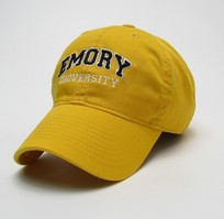 Emory Eagles Legacy Youth Adjustable Washed Twill Hat