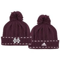 Adidas Womens Cuffed Pom Knit  Hat