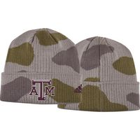 Adidas Camo Pattern Cuffed Knit Hat