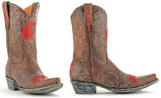 Washington State Ladies 10 Inch Leather Cowboy Boot