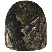 Logo Fit Cedar Tree Camo Knit Beanie
