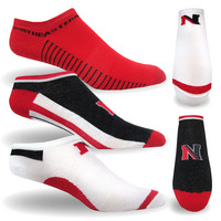 Northeastern Huskies TopSox High Tech Extra Low Cut Crew Sock