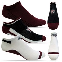 TopSox 3 Pack Flat Knit Low Cut Socks