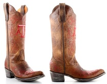 TAMU Game Day Ladies Cowboy Boot