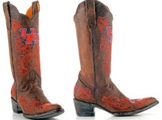 University of Houston Game Day Ladies Cowboy Boot