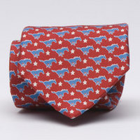 SMU Mustangs Vineyard Vines Silk Tie