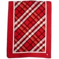 Vineyard Vines IU Official Plaid Scarf