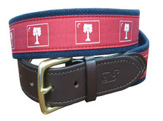 Vineyard Vines Canvas Belt