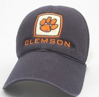 Clemson Tigers Legacy Adjustable Hat