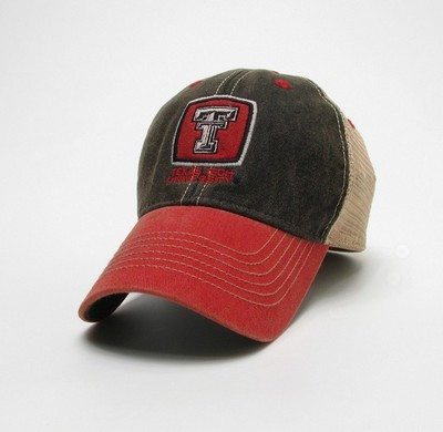 Texas Tech Red Raiders Legacy Adjustable Washed Twill Hat