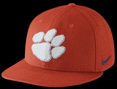 Nike  Clemson Player True Snapback