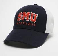 SMU Mustangs Legacy Stretch Fit Acrylic Cap