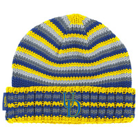 Adidas Striped Knit Hat with Cuff