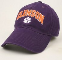 Clemson Tigers Legacy Fitted Washed Twill Hat