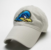 Delaware Blue Hens Legacy Fitted Washed Twill Hat
