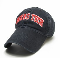 Texas Tech Red Raiders Legacy Fitted Washed Twill Hat