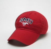 SMU Mustangs Legacy Toddler Adjustable Washed Twill Hat