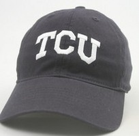 TCU Horned Frogs Legacy Youth Adjustable Washed Twill Hat