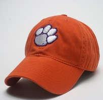 Clemson Tigers Legacy Youth Adjustable Washed Twill Hat