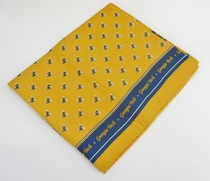 Georgia Tech Global Neckwear Silk Scarf