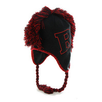Forty Seven Brand Mohican Earflap Sherpa Knit Hat