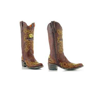 Southern Miss Ladies 13 Inch Leather Cowboy Boot