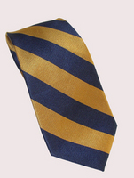 Georgia Tech Global Neckwear Woven Stripe Silk Tie