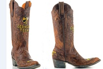 Georgia Tech Game Day Ladies Cowboy Boot