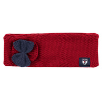 Womens Knit Bow Head Band