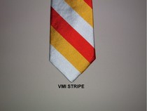 Global Neckwear Woven Stripe Silk Tie