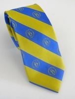 Delaware Blue Hens Global Neckwear Striped Silk Tie