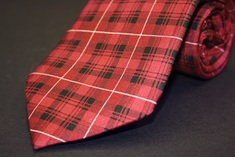 UChicago Uncommon Collection Tartan Tie