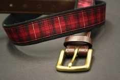 UChicago Uncommon Collection Tartan Belt