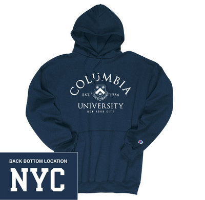 Columbia University Bookstore Columbia University Champion Hoodie