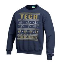 Champion Powerblend Fleece Crew Ugly Sweater