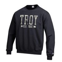 Troy University Champion Crew Sweatshirt