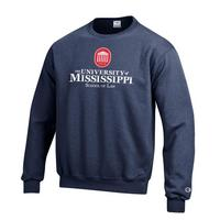 Ole Miss Champion Crew Sweatshirt