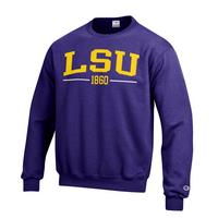 LSU Tigers Champion Crew Sweatshirt
