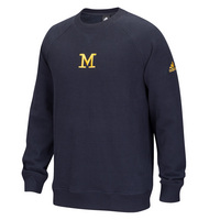 Adidas Harbaugh Fleece Crew Pullover