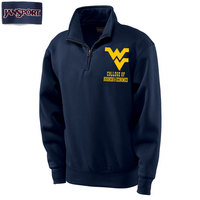 Jansport WVU College of Business & Economics Quarter Zip