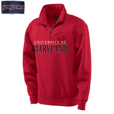 University of Maryland JanSport 1/4 Zip Pullover
