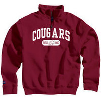 Washington State Cougars Jansport Quarter Zip Pullover