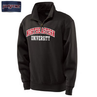 Northeastern Huskies Jansport Quarter Zip Pullover