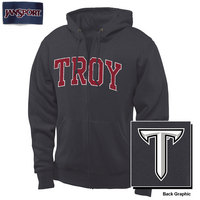 Troy University JanSport Full Zip Pullover