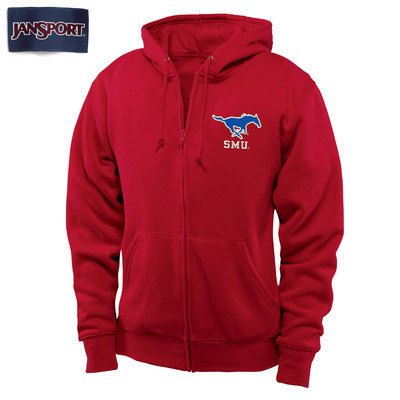SMU Mustangs JanSport Full Zip Pullover