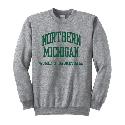 Womens Basketball Crew Neck Sweatshirt (Online Only)