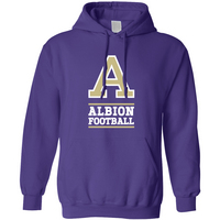 Albion College Football Hoodie Sweatshirt