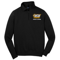 Womens Lacrosse Quarter Zip Pullover (Online Only)