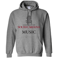South Carolina Gamecocks Music Hoodie